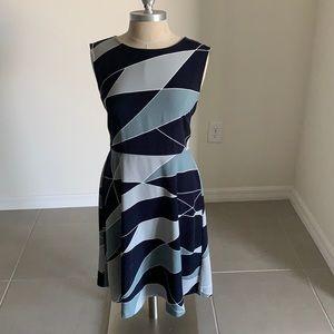 ANN TAYLOR LOFT FACTORY A-LINE DRESS GU SZ 8